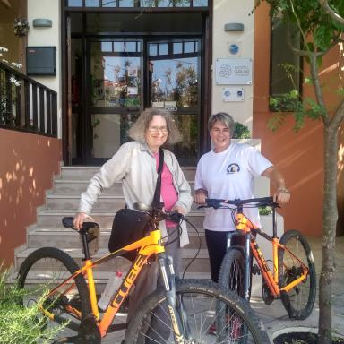 cycling for all in Eressos Lesvos